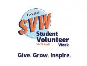 Student Volunteer Week Logo