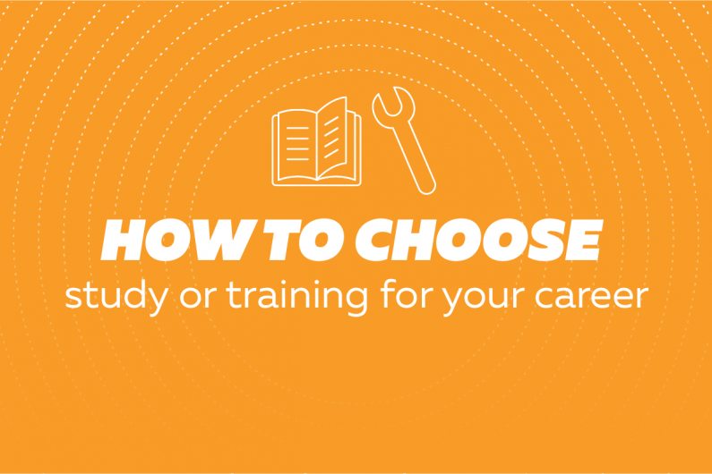 3d2 How to choose study or training for your career